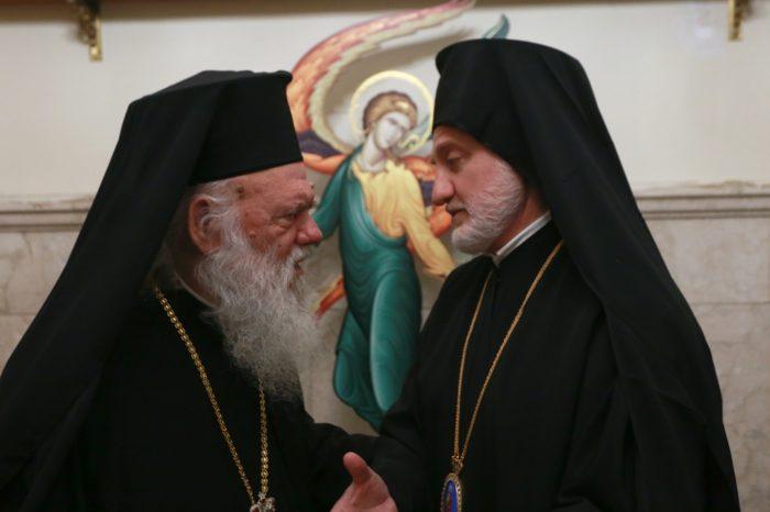 С Предстоятелем Элладской Православной Церкви Архиепископом Афинским Иеронимом