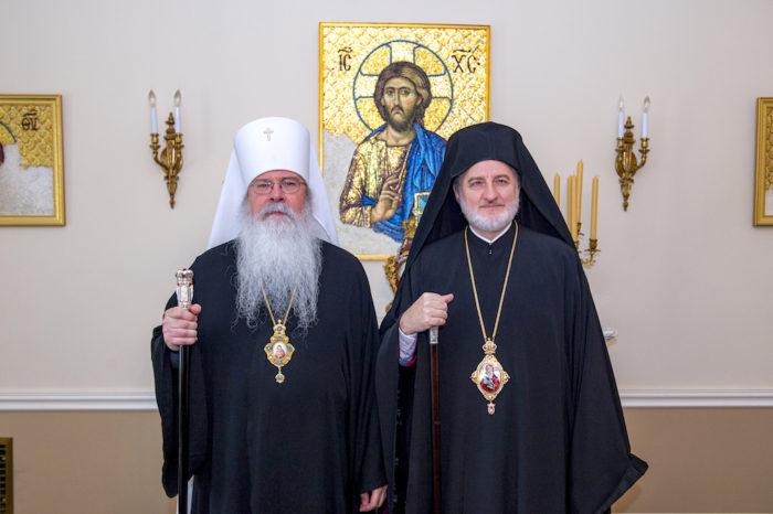 С Предстоятелем Православной Церкви в Америке Митрополитом всея Америки и Канады Тихоном