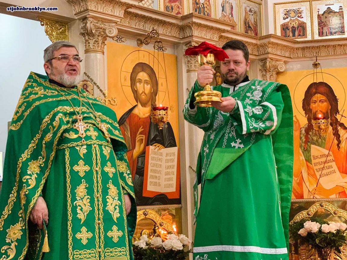 В русском соборе св. Иоанна Предтечи в Бруклине отметили память прп. Иова Почаевского