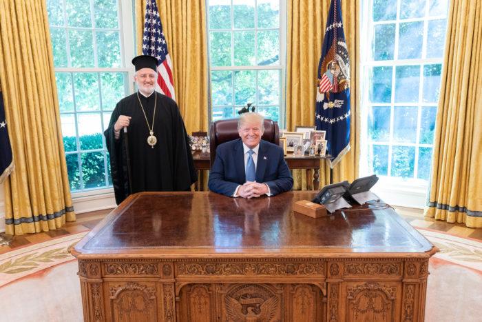 С Президентом Америки Дональдом Трампом