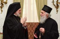Американскую Архиепископию посетил Сербский Патриарх Ириней
