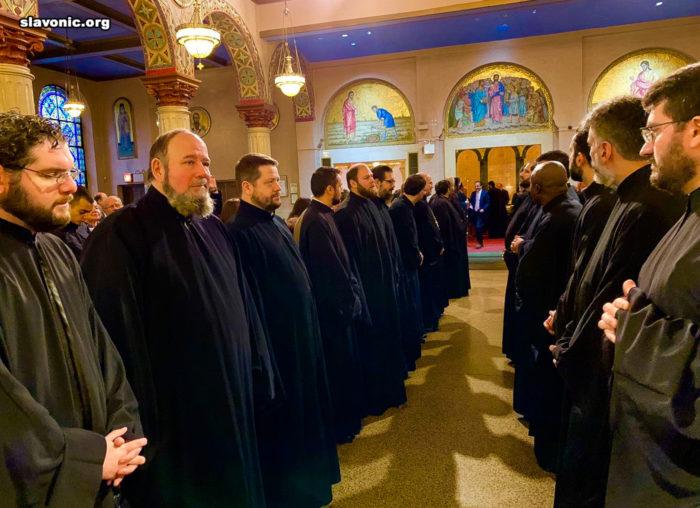 Встреча в храме архиепископа Елпидофора