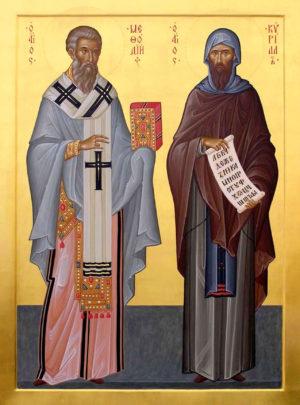 Святые Кирилл и Мефодий – небесные покровители Славянского Викариатства