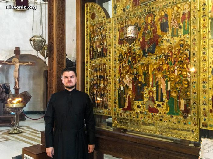 Икона «Надежда Грузии» с изображением всех грузинских святых