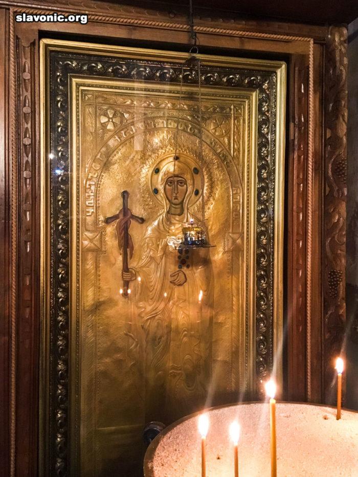 Икона святой Нины в Сионском соборе
