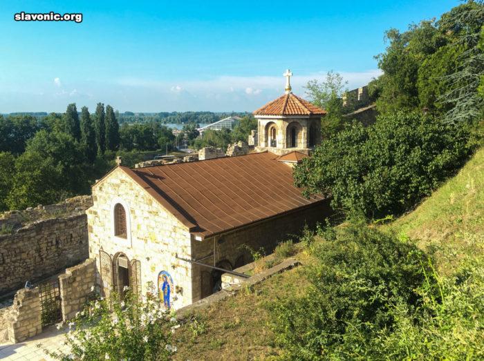 Посещение церкви святой Петки (Параскевы) Сербской в Нижнем Граде Белградской крепости