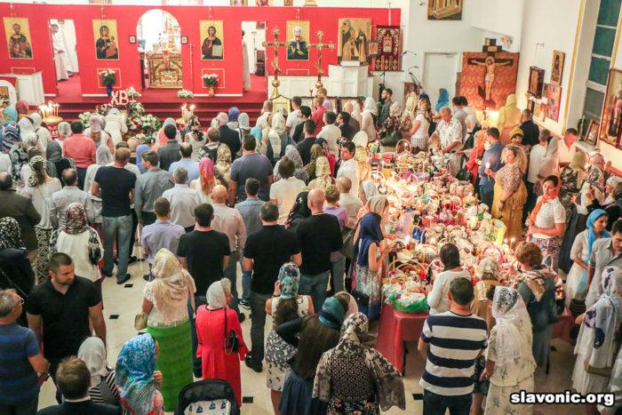 Собор святой Матроны Московской в Майми (шт. Флорида)