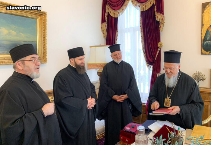 Святейший Патриарх Варфоломей впервые встретился с духовенством Славянского Викариатства