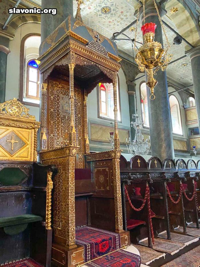 Паломники из Америки молитвенно поклонились святыням Константинополя