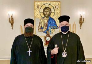 Викарий Славянского Викариатства обсудил с главой Американской Архиепископии вопросы развития Викариатства