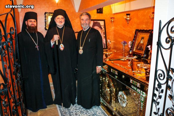 Архиепископ Елпидофор посетил старейший православный монастырь Флориды