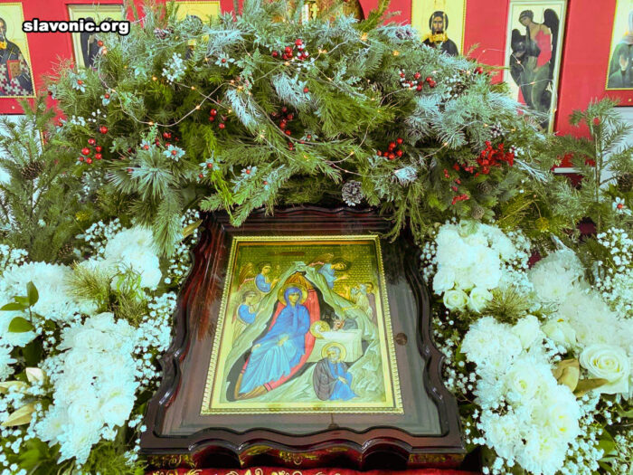 В главном храме Славянского Викариатства молитвенно отметили Рождество Христово