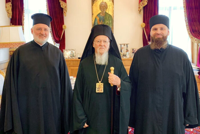 Patriarchal Congratulations to Archimandrite Alexander Belya on the 10th Anniversary of His Ordination to the Priesthood