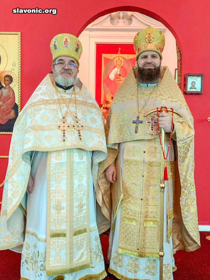В Майамском соборе отметили 10-летие хиротонии викария Славянского Викариатства архимандрита Александра (Беля)