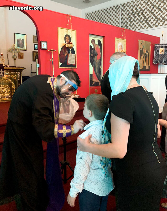 МАЙАМИ. В Славянском Викариатстве совершено второе Соборование во время великого поста